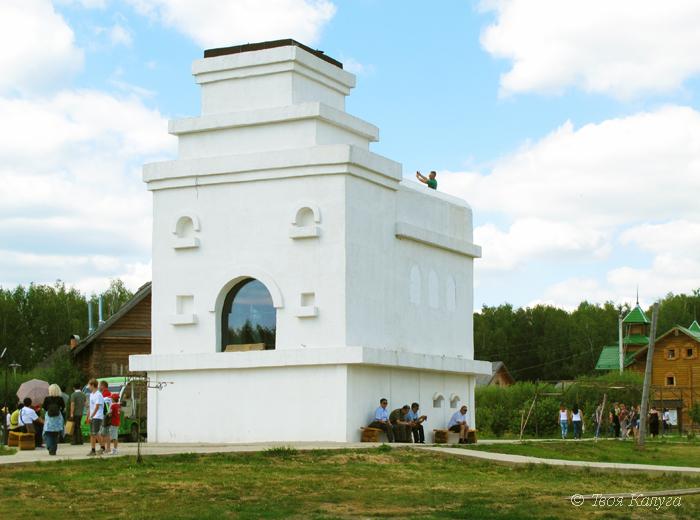 Большая русская печка в Этномире
