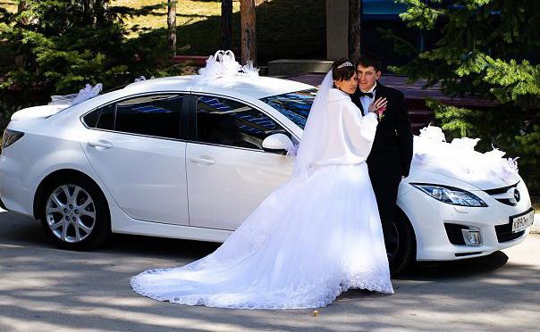Где заказать машину на свадьбу в Калуге и сколько это стоит