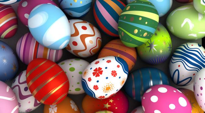Как украсить пасхальные яйца своими руками