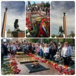 Новый памятник Жукову на площади Победы