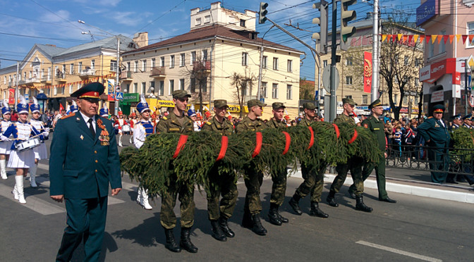 Парад победы в Калуге