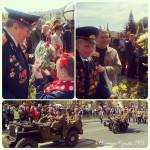 Ветераны на Параде Победы в Калуге
