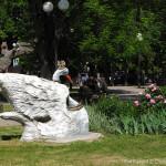 Персонаж в Парке Три богатыря