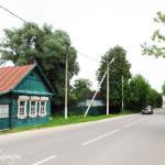 Дорога к усадьбе Полотняный завод