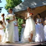 Дефиле Свадебного салона Вальс в парке культуры