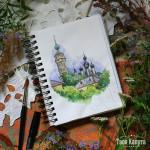 Казанская церковь. Художник Карина Скобелева