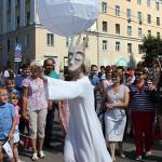 Странствующие куклы господина Пэжо на день города в Калуге