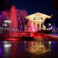 Театр ночью