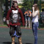 Рыцарь с дамой