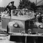 Юрий Гагарин в Калуге 13 июня 1961 года