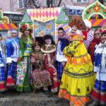 Коллектив Управления культуры г. Калуги на Масленице 2018