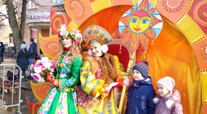 Масленица — 2019 в Калуге. Фотоотчет